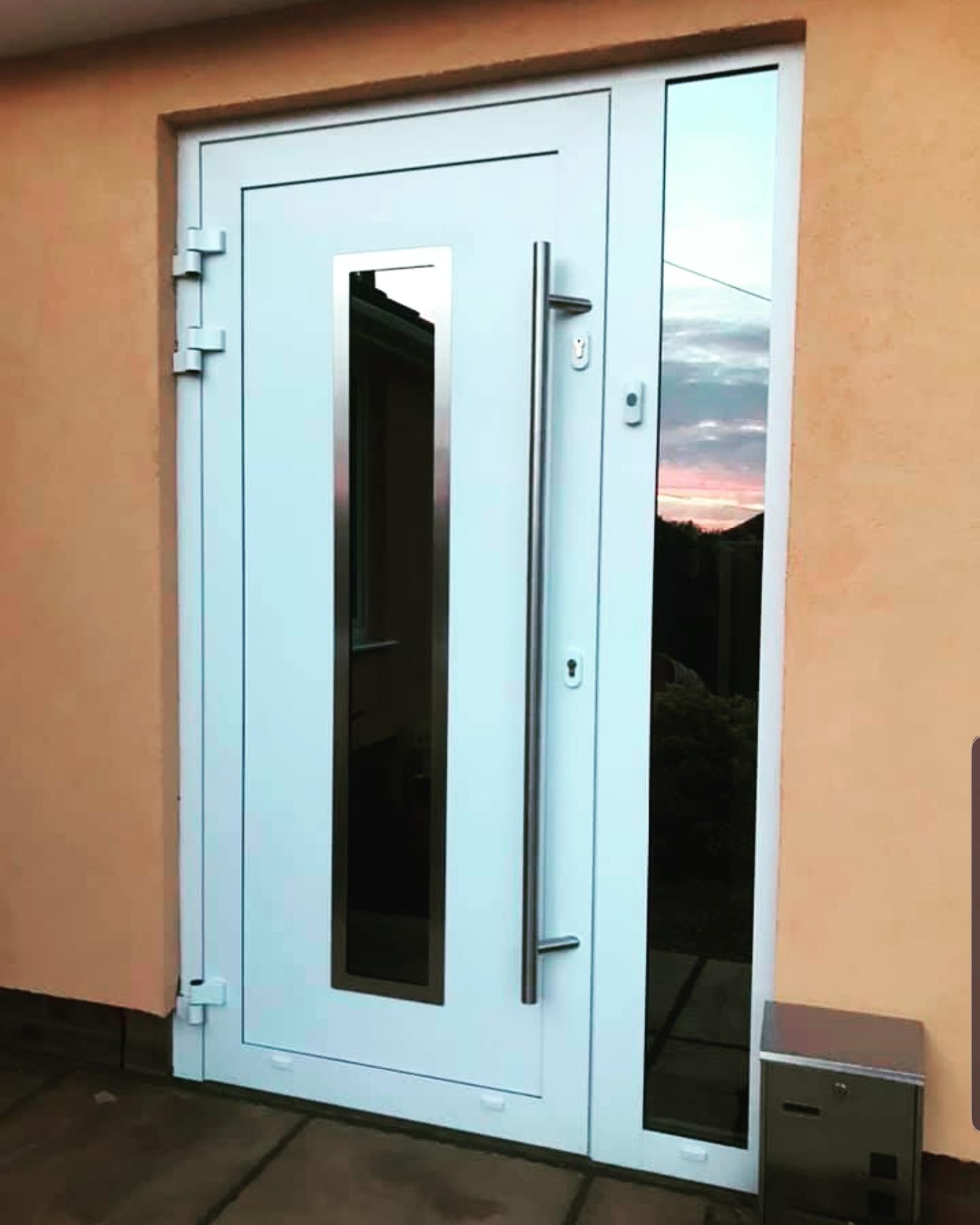 Aluminum exterior doors