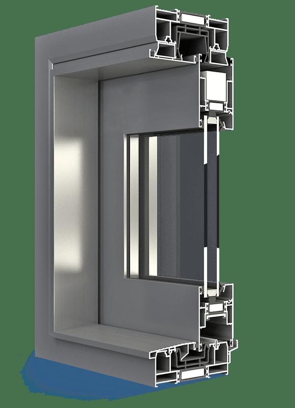 Aluprof Aluminium Schiebefenster