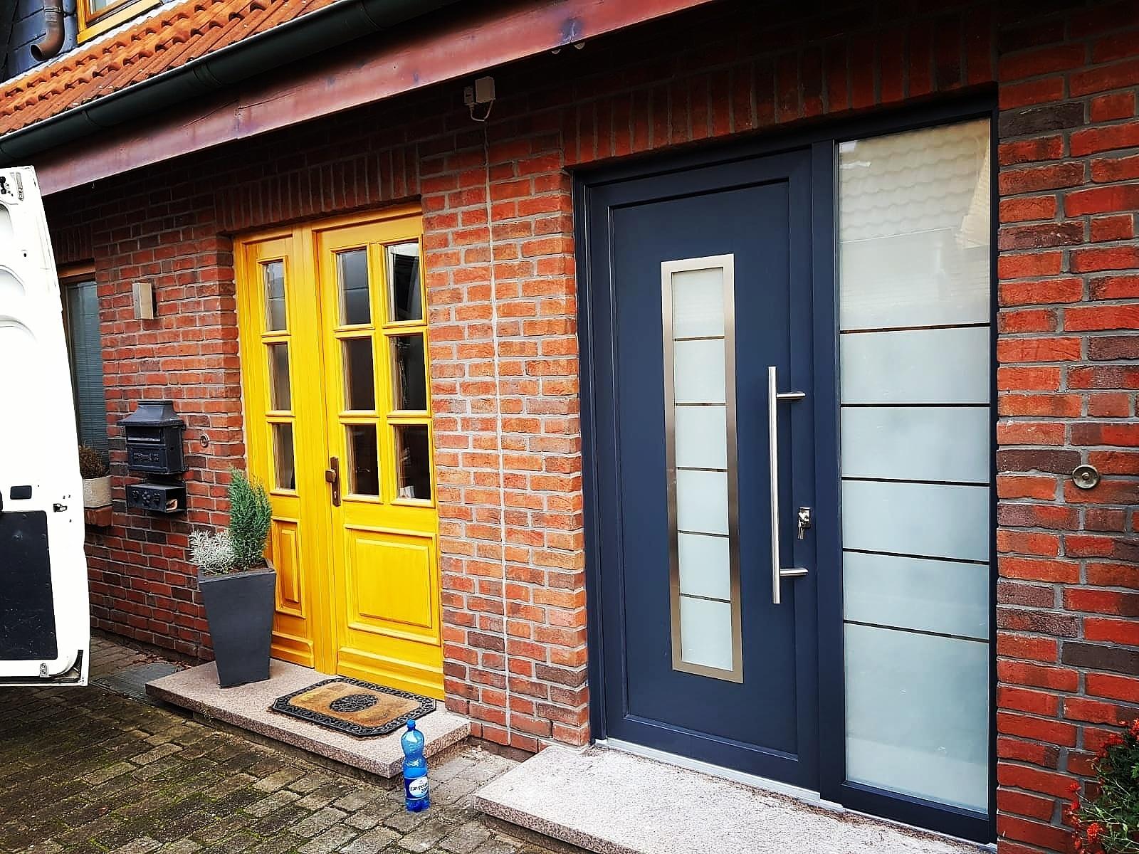 Drzwi zewnętrzne PVC