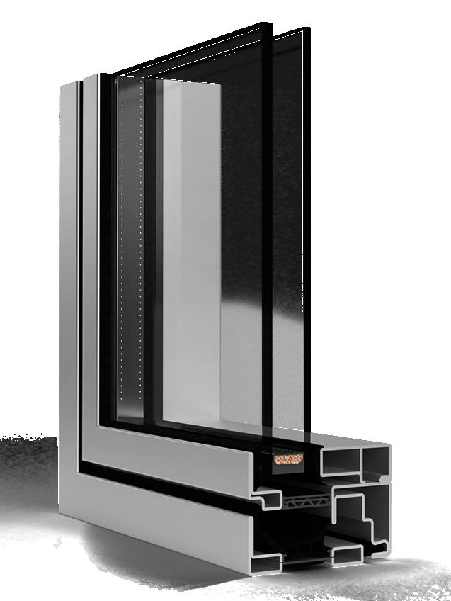 Unico window system